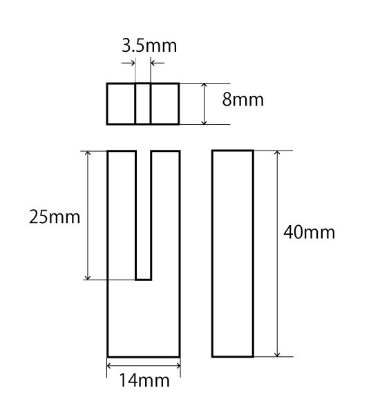 ヒルト三角法3.5mm