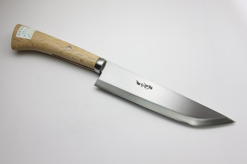 マタギナガサ(叉鬼山刀) 木柄ナガサ 7寸