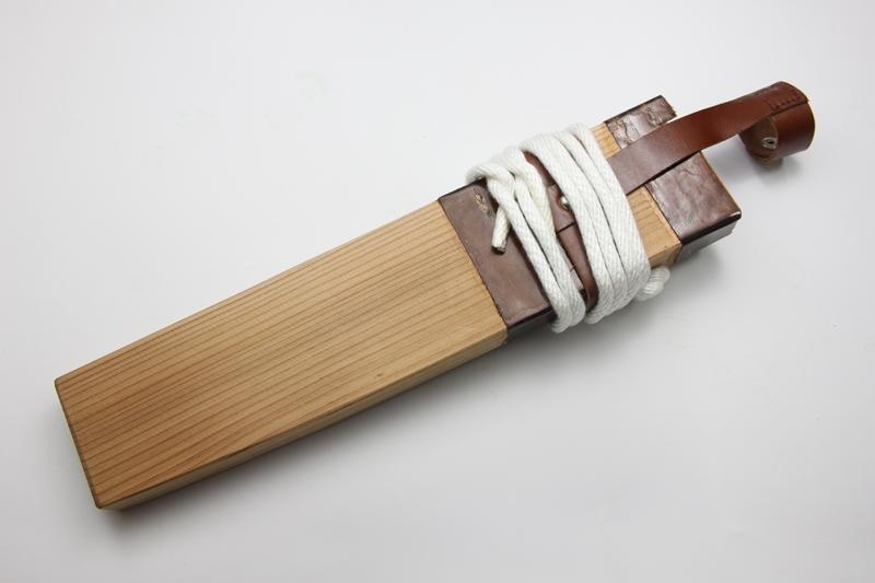 マタギナガサ(叉鬼山刀) 木柄ナガサ 9寸5分