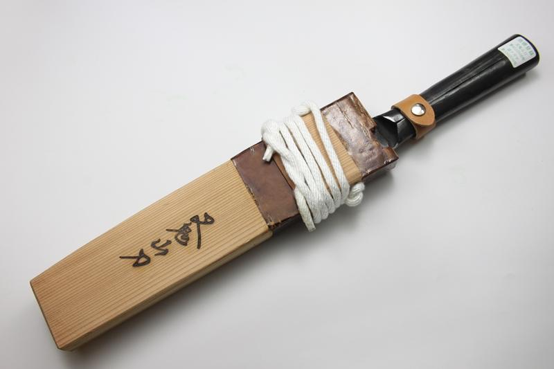 マタギナガサ(叉鬼山刀) フクロナガサ 9寸5分