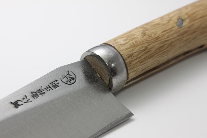 マタギナガサ(叉鬼山刀) 木柄ナガサ 4寸5分