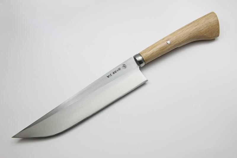 マタギナガサ(叉鬼山刀) 木柄ナガサ 8寸